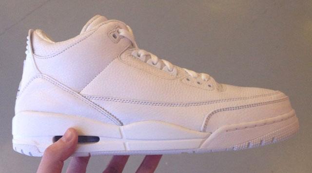 jordan 3 all white