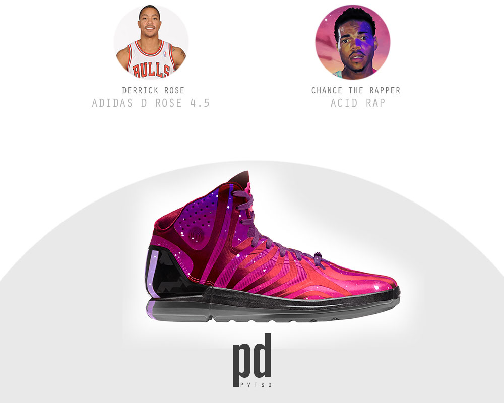 adidas D Rose 4.5 x Acid Rap