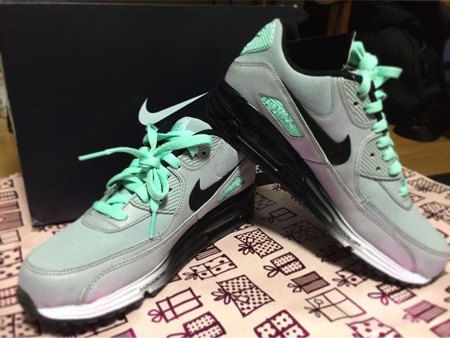 fbb1182b7e Air Max Lunar 90. NIKEiD Tiffany Designs (13)