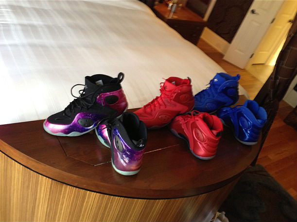 Penny Hardaway's Nike Zoom Rookie Collection (2)