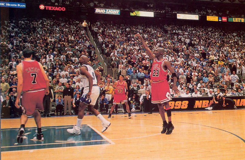 "This Day In History: Michael Jordan Hits the ""Last Shot ..."