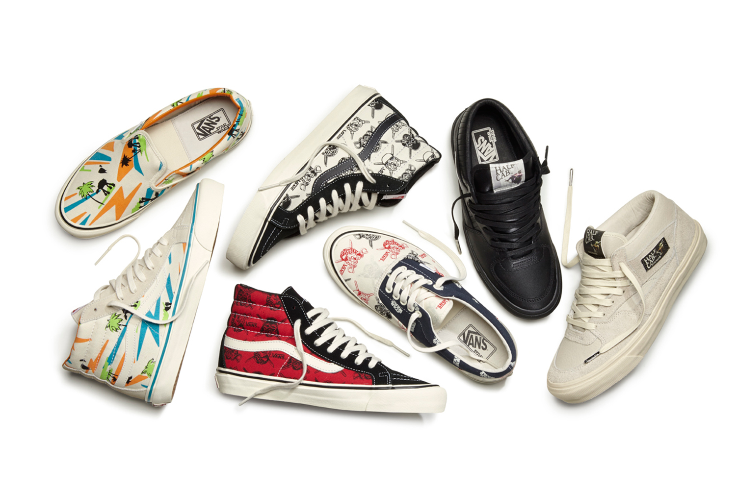 7e832378ba Star Wars and Vans Use the Power of the Force for New Collection ...