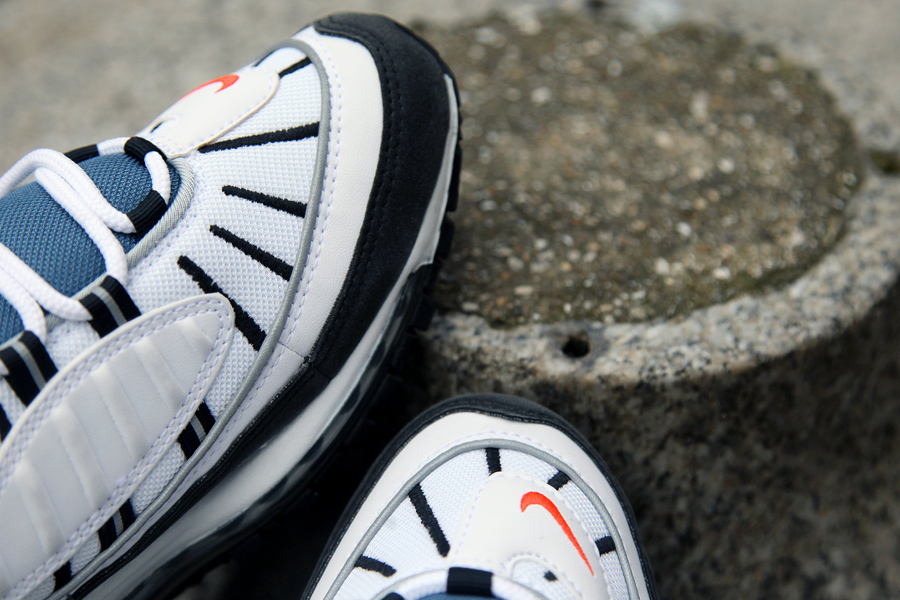 competitive price f379f 2d2c4 Check out the first beauty shots of the Air Max 98 retro compliments of  Londons Foot Patrol, where they are available now, and expect the 98 to  land ...