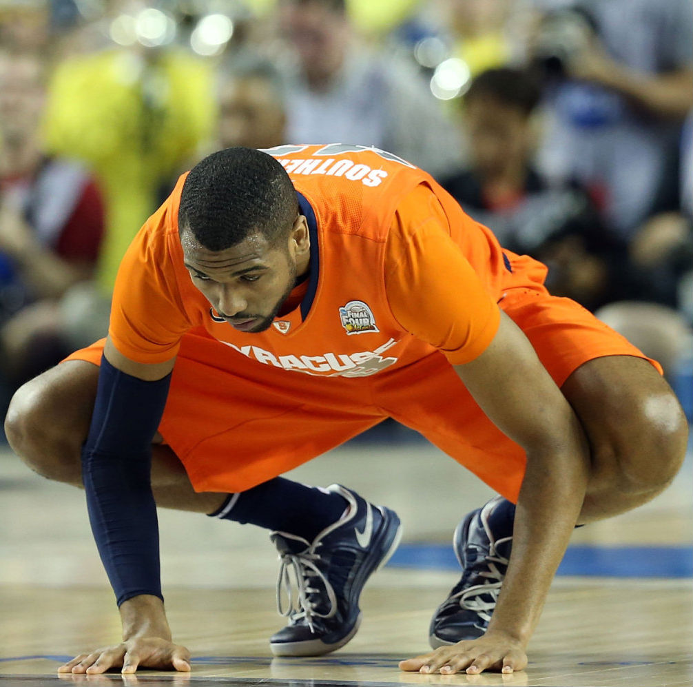 James Southerland wearing Nike Lunar Hyperdunk Low