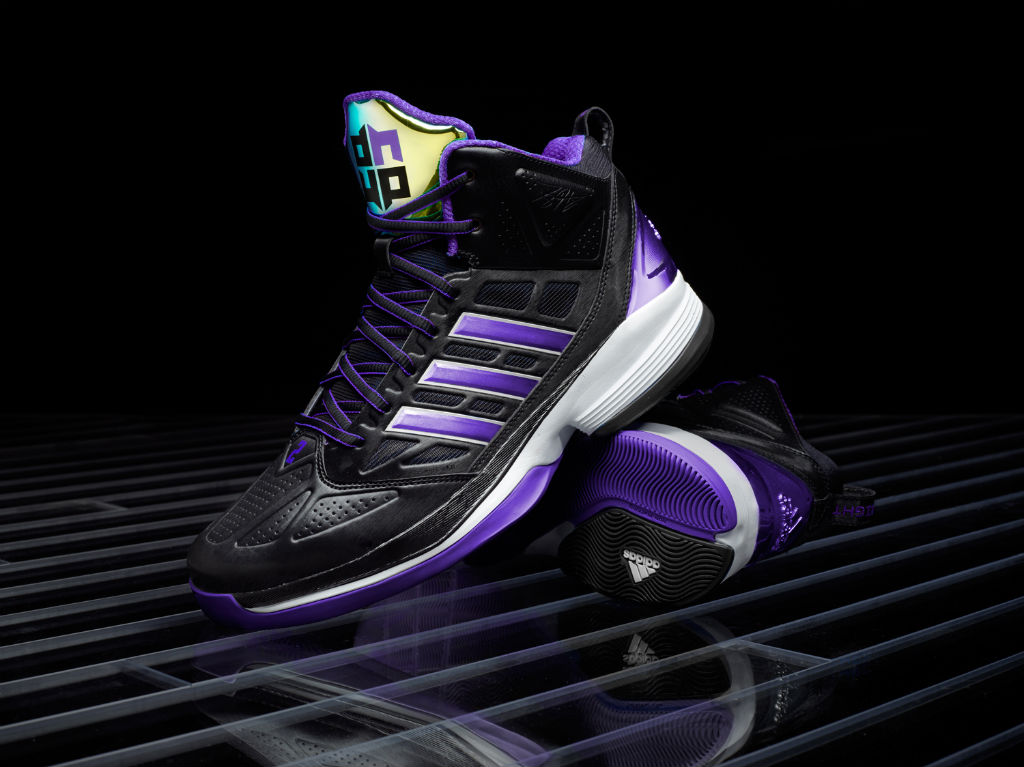 adidas D Howard Light Lakers Away Official