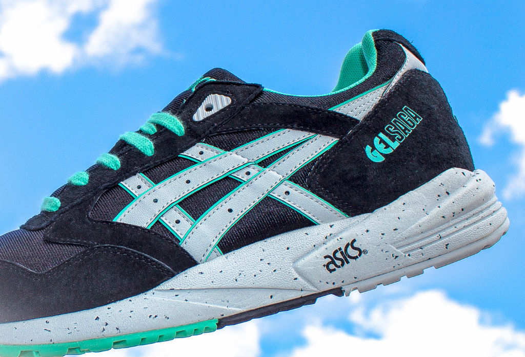 Bait x Asics Gel Saga 'Black Ring' (by Tim... – Sweetsoles – Sneakers