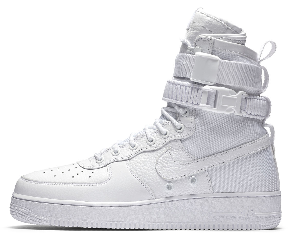 Nike AF Air Force 1 High White Release Date Profile 903270-100