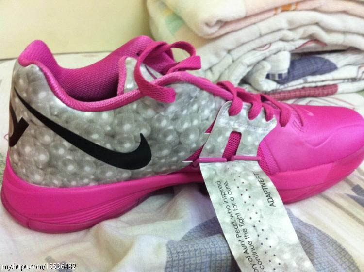 Nike Zoom KD IV Aunt Pearl Kay Yow Think Pink 473679-601 (2)