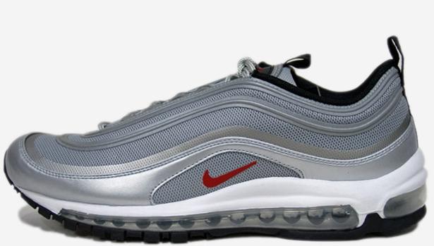 Nike Air Max '97 Premium Tape QS Metallic Silver/Varsity Red-White-Black