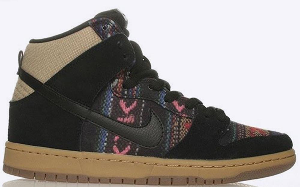 Nike Dunk High Premium SB Multi-Color/Black-Gum Medium Brown