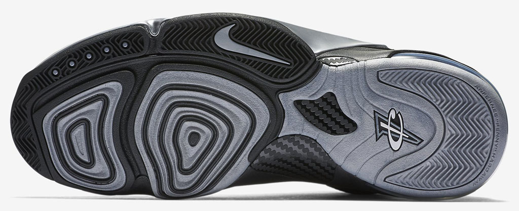 check out 80b34 70953 Nike Zoom Penny 6 Black Silver 749629-002 (4)