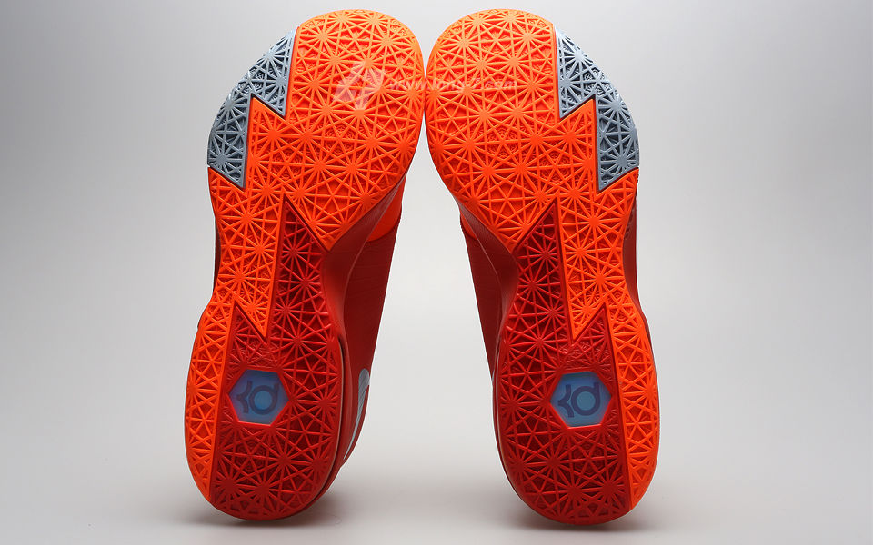 264aa9d13bc8 Nike KD VI Total Orange Armory Slate Team Orange Armory Blue 599424-800 (4