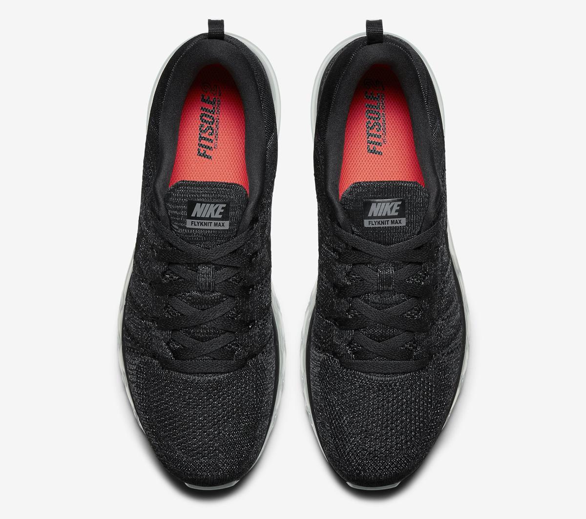 8e3e880cb02 Nike Flyknit Air Max Color  Black Dark Grey Anthracite Black Style    620469 -010. Price   225