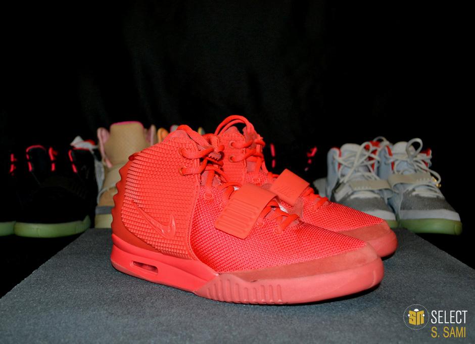 Nike Air Yeezy II - Red October