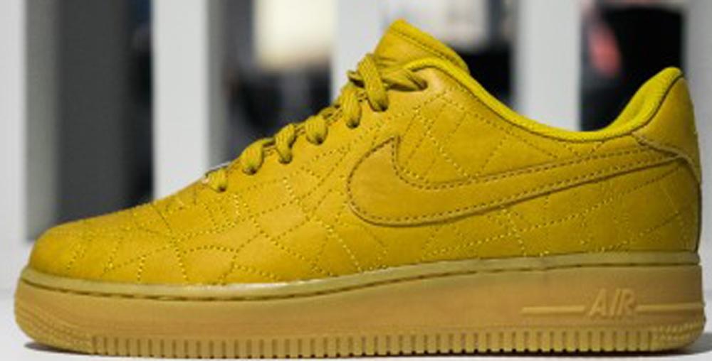 Nike Air Force 1 Low Women's Dark Citron/Dark Citron