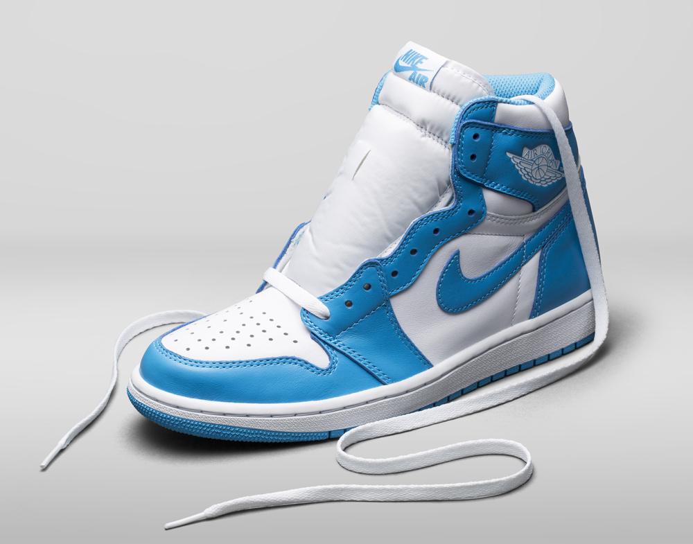 Air Jordan 1 Retro OG High UNC White Powder Blue