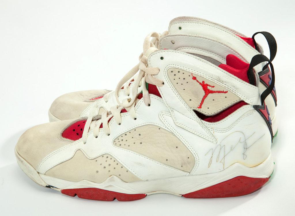 Michael Jordan Game Used Shoes