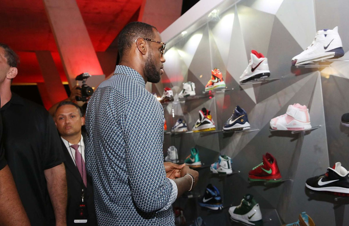 Nike LeBron James 11/11 Experience Event Photos (2)
