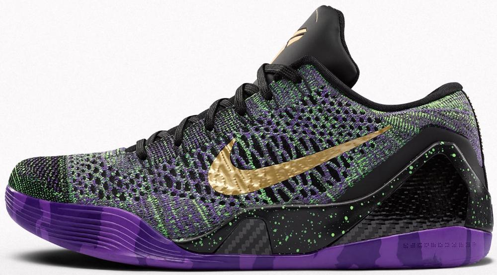 Nike Kobe 9 Elite Low iD Black/Multi-Color