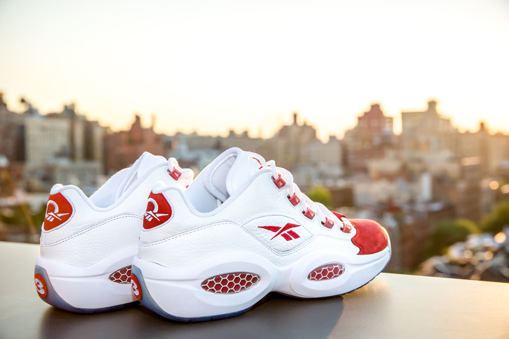 Reebok Question Low White/Red (2)