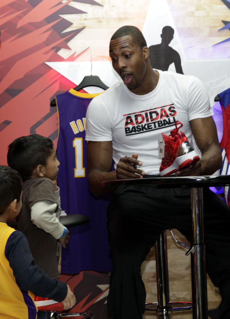 adidas Basketball Athletes Celebrate NBA All-Star // Dwight Howard (2)