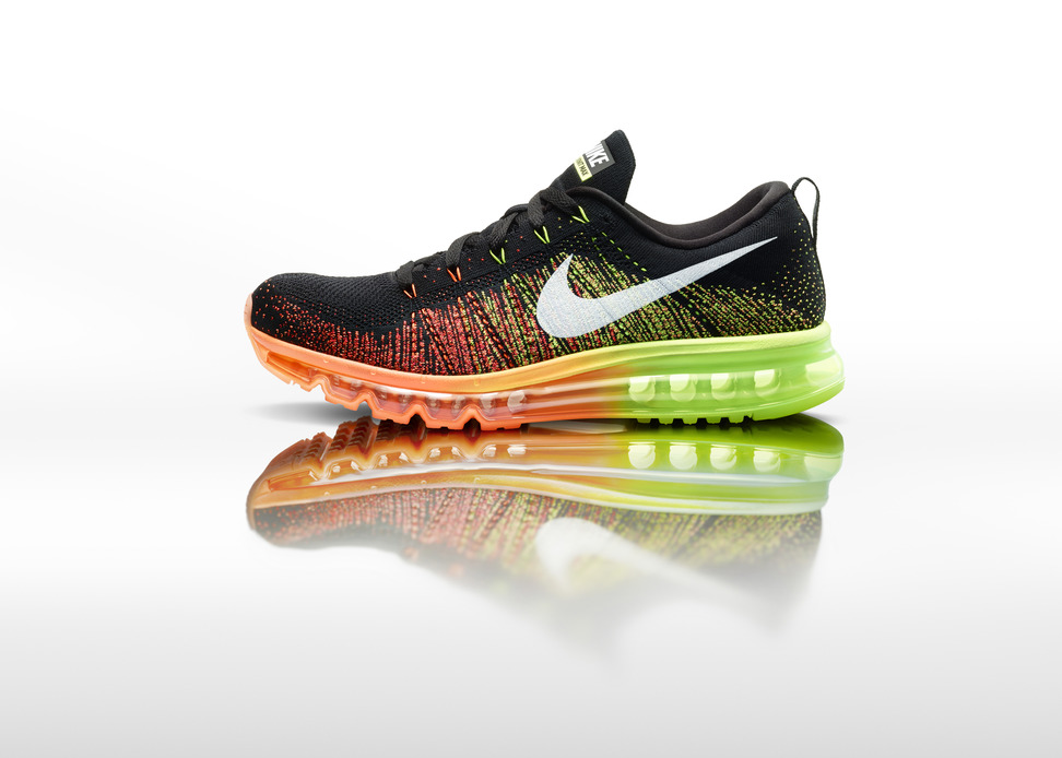 Nike Flyknit Air Max Mens profile