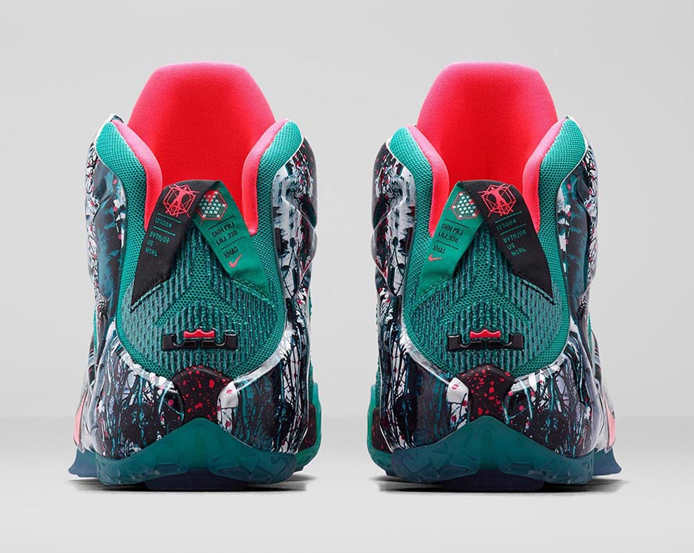 new products 7a428 43d02 ... get nike lebron 12 christmas releae date 12 26 14. color emerald green  dark emerald