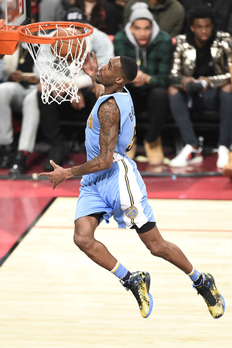 Will Barton Wearing the Under Armour ClutchFit Drive (2)