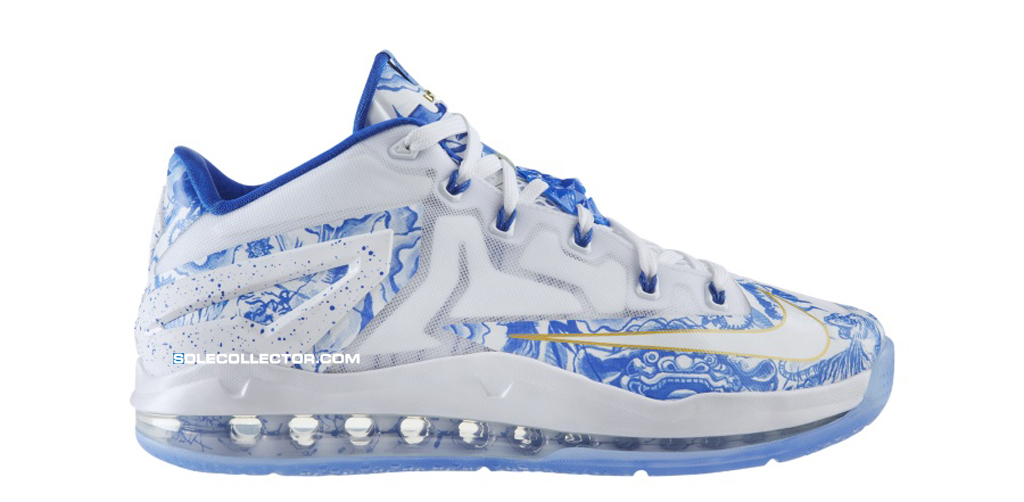 Release Date: Nike LeBron 11 Low 'China'