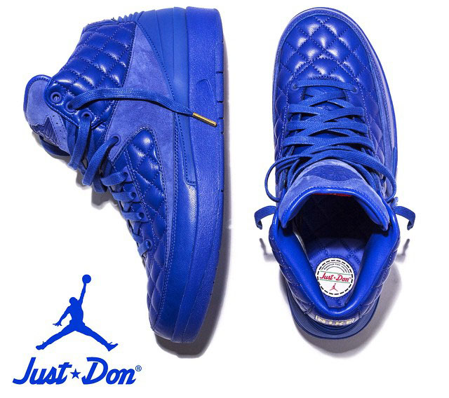 e1d78fe7e14c You ll Never Guess What Inspired Don C s Quilted Air Jordan 2