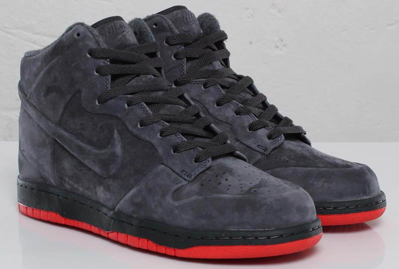 premium selection 1568b a30aa Nike Dunk High VT Anthracite Max Orange 472517-043