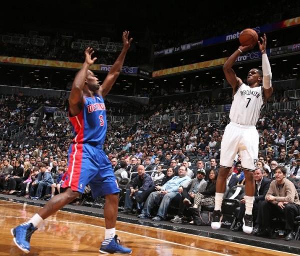 ee87e867d30a NBA Sneaker Watch    Joe Johnson Rocks Black White Air Jordan 11 Low ...