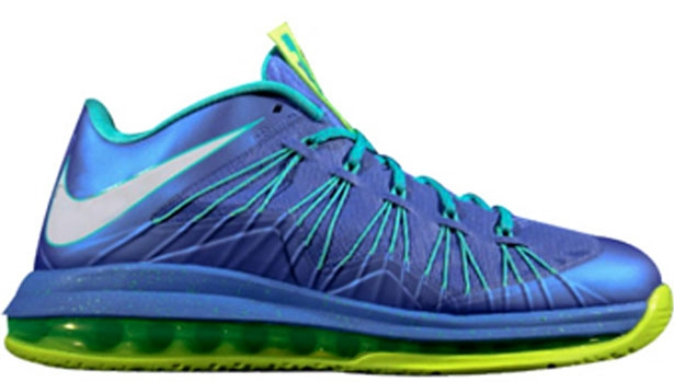 Nike LeBron X Low Sprite Violet Force