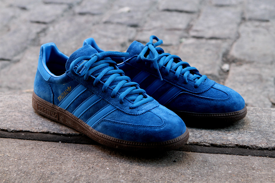 premium selection 69b1a ab79d adidas Originals brings out another classic in a premium look with the  Spezial in Royal Blue suede.