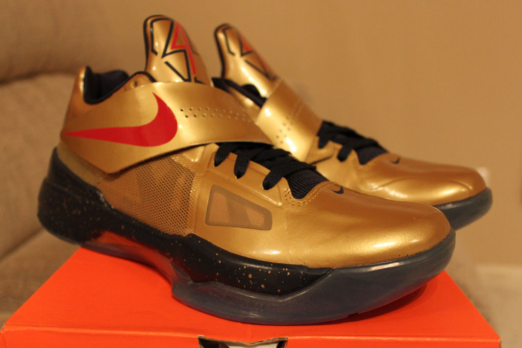 new product ab6e7 203ab Nike Zoom KD IV 4 Gold Medal 473679-702 (3)