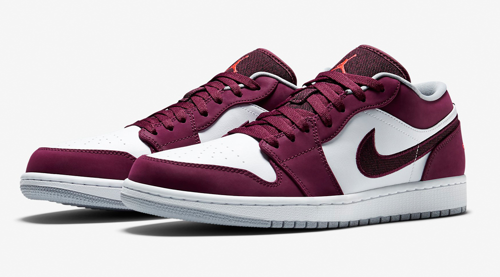 online retailer 95773 82d84 Air Jordan 1 Low Bordeaux