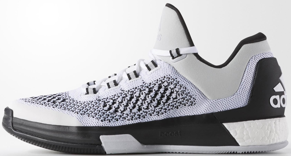 adidas Crazylight Boost 2015 Running White/Running White-Clear Grey