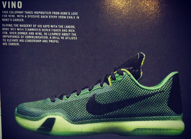 c78d7b58219 Upcoming Nike Kobe 10 Colorways Revealed