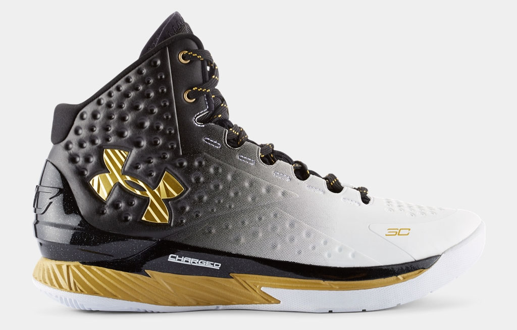 Here S Steph Curry S First Under Armour Mvp Sneaker Sole