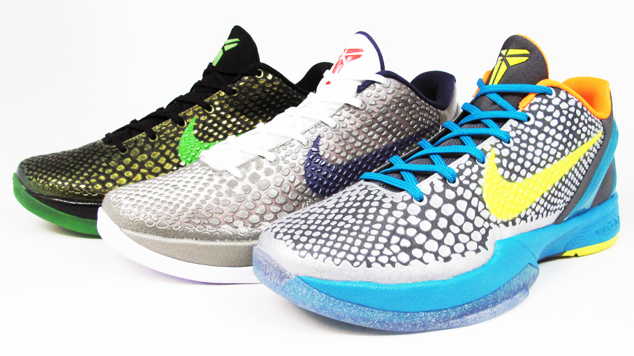 Nike Zoom Kobe VI - Three New Colorways Releasing 3/5 @ 21 ...Kobe 8 Colorways