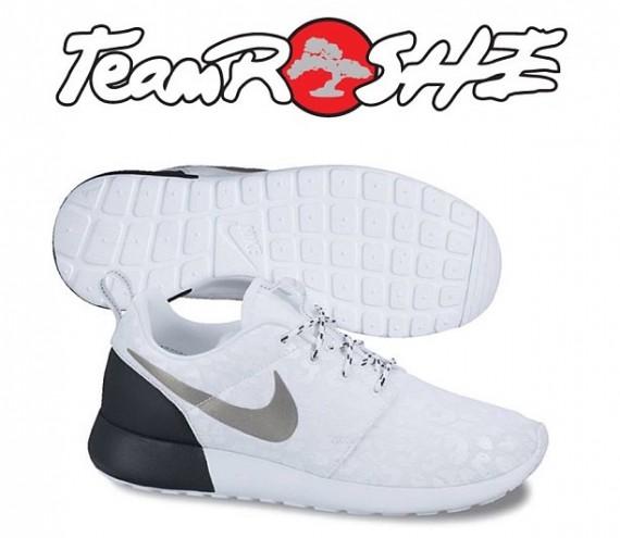 vlflfd Nike Roshe Run Premium - White/Black | Sole Collector