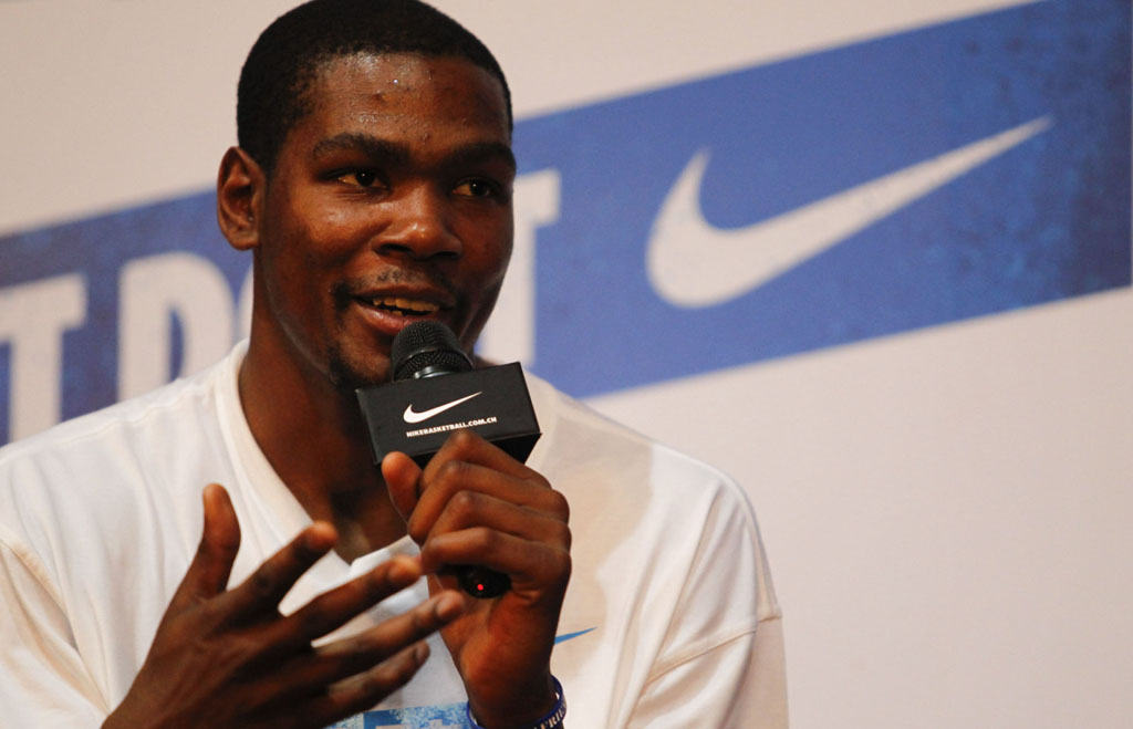 Kevin Durant New Shoe Contract