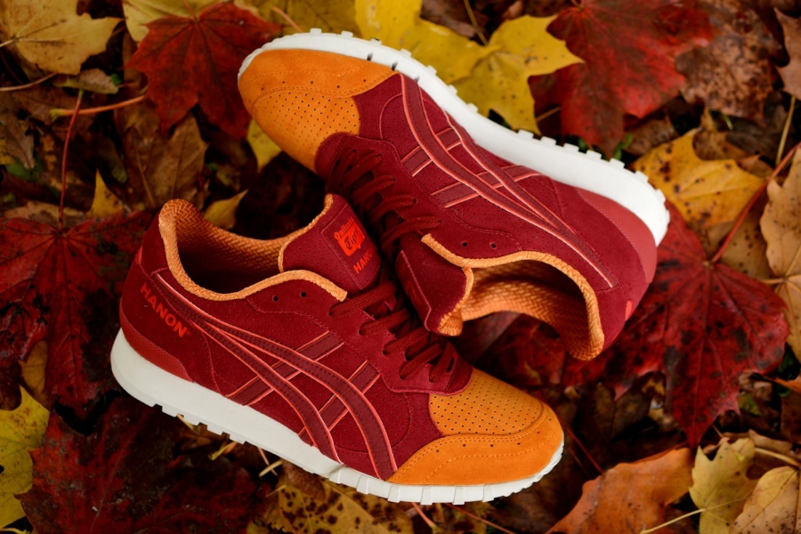 Hanon x Onitsuka Tiger Colorado Eighty-Five Wildcats II red and orange