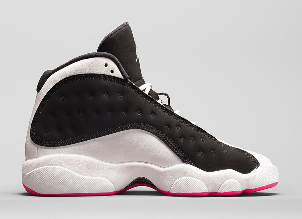 fbbd27eff939 An Official Look At The  Hyper Pink  Girls Air Jordan 13 Retro GS ...