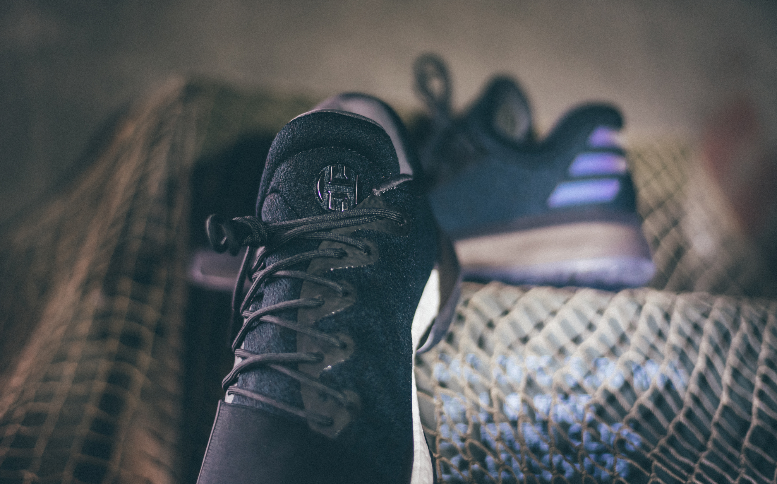 outlet store 7fc0e a8ea0 ... Men s Adidas Harden 1 Triple Black ...
