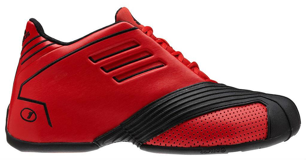 52902a7825e4 adidas TMAC 1 - Light Scarlet Black Available
