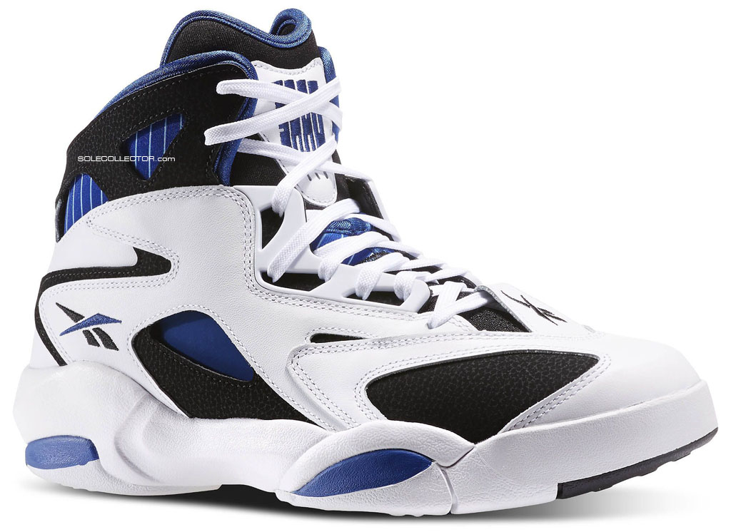 Reebok Shaq Attacked - White Black