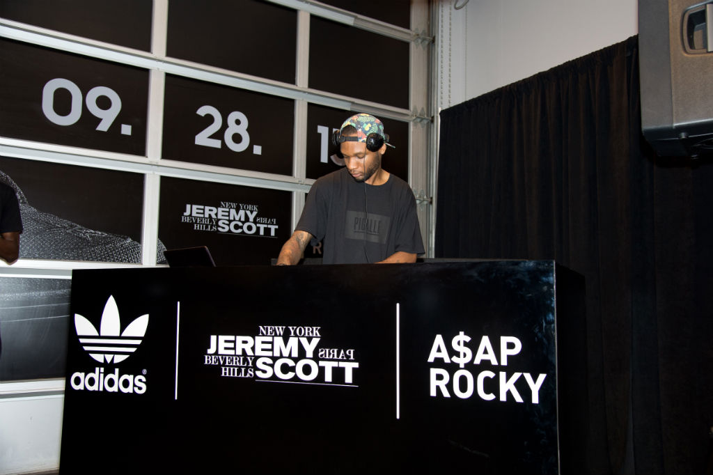 A$AP Rocky x Jeremy Scott adidas Wings 2.0 Reveal Event Photos (4)