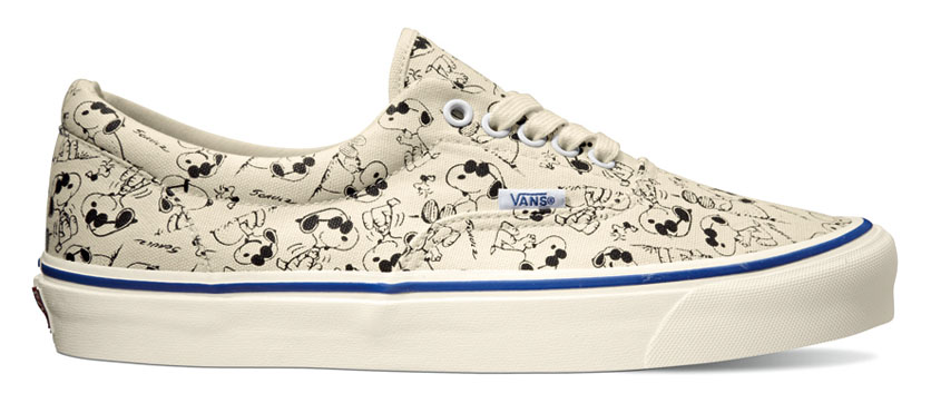 Peanuts x Vans Vault Collection - Era LX Snoopy White