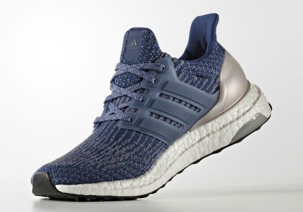Adidas Ultra Boost Women's Mystery Blue Medial BA8928